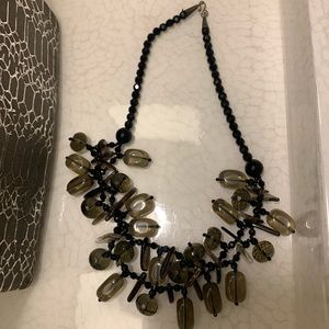 Smoky Quartz Vintage Necklace